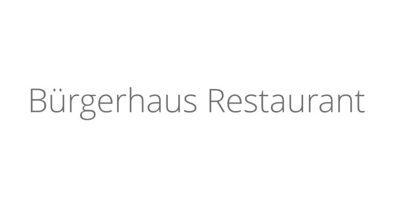 Bürgerhaus Restaurant