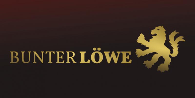 Bunter Löwe