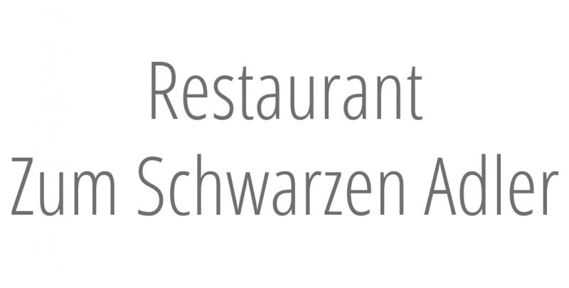 Restaurant Zum Schwarzen Adler
