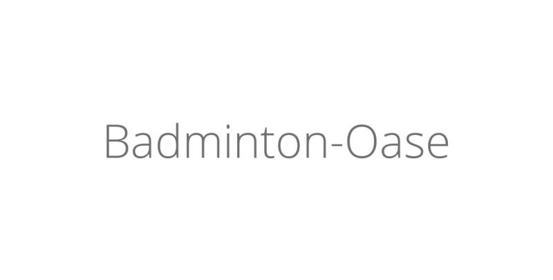 Badminton-Oase