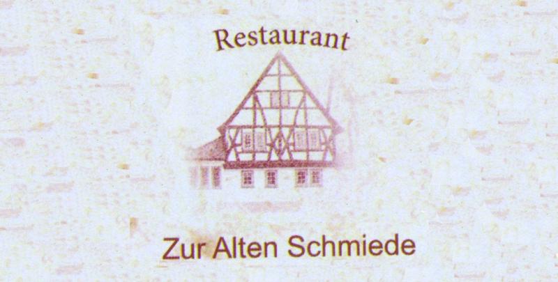 Restaurant Zur Alten Schmiede