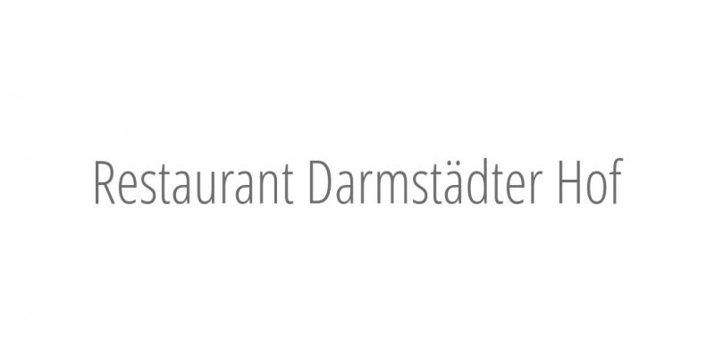 Restaurant Darmstädter Hof
