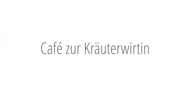 Café zur Kräuterwirtin