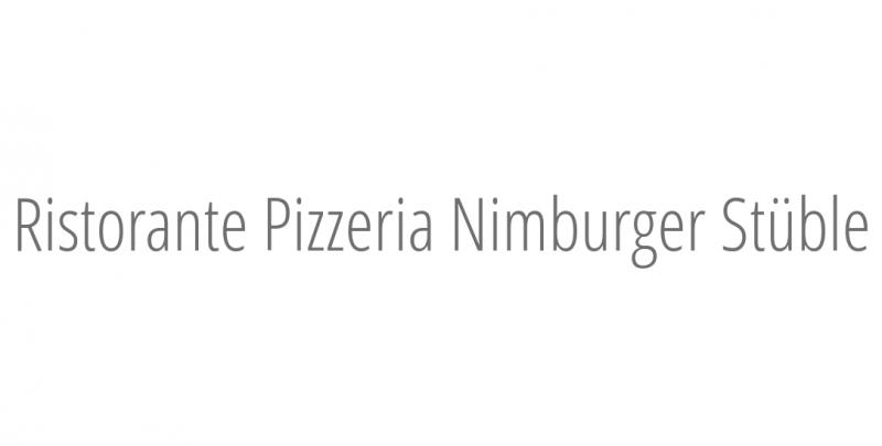 Ristorante Pizzeria Nimburger Stüble