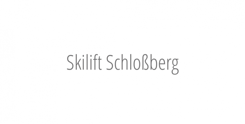 Skilift Schloßberg