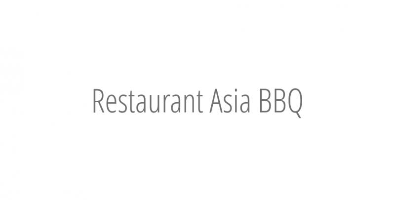 Restaurant Asia BBQ
