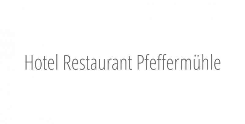 Hotel Restaurant Pfeffermühle