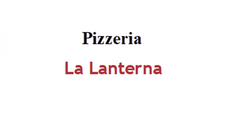Ristorante Pizzeria La Lanterna
