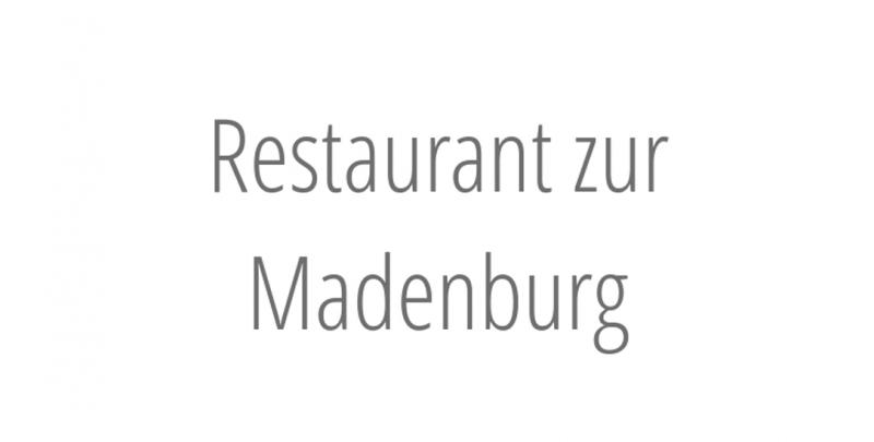 Restaurant zur Madenburg