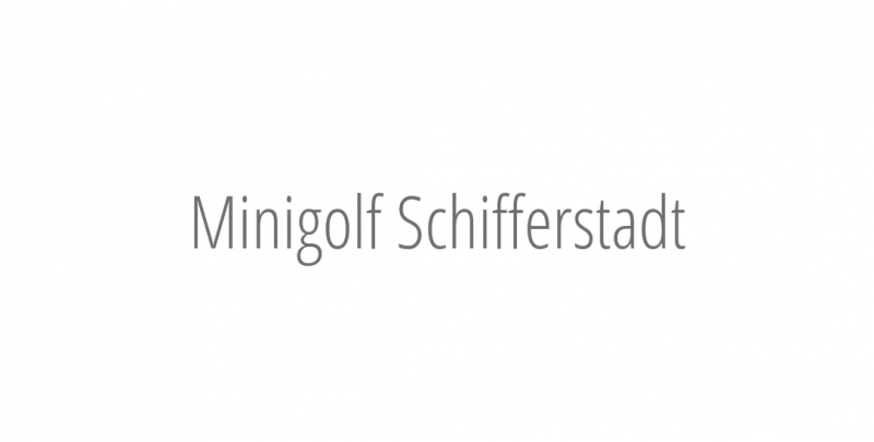 Minigolf Schifferstadt