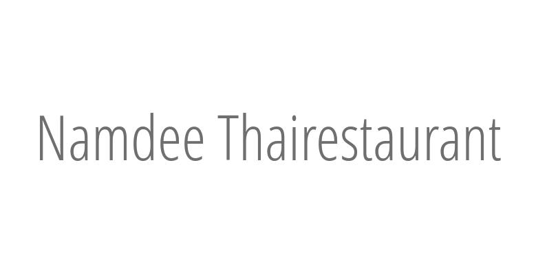 Namdee Thairestaurant