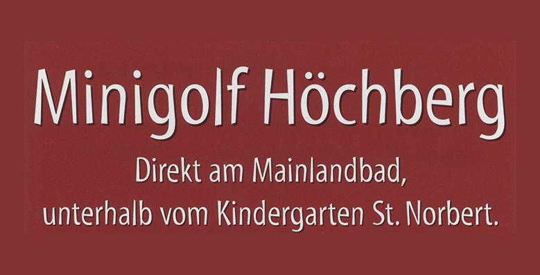 Minigolf Höchberg