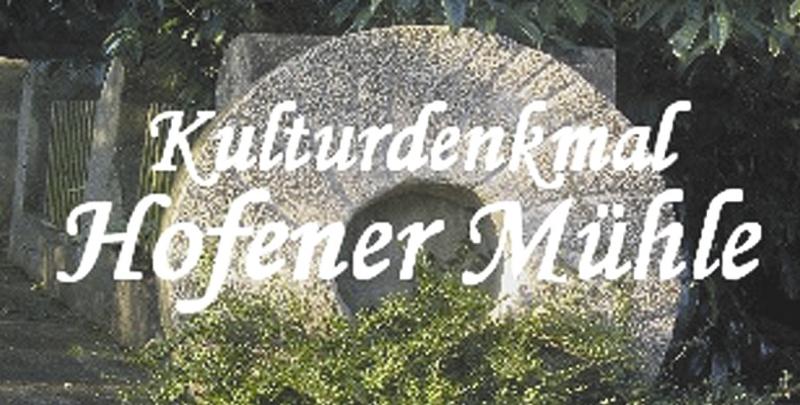 Hofener Mühle