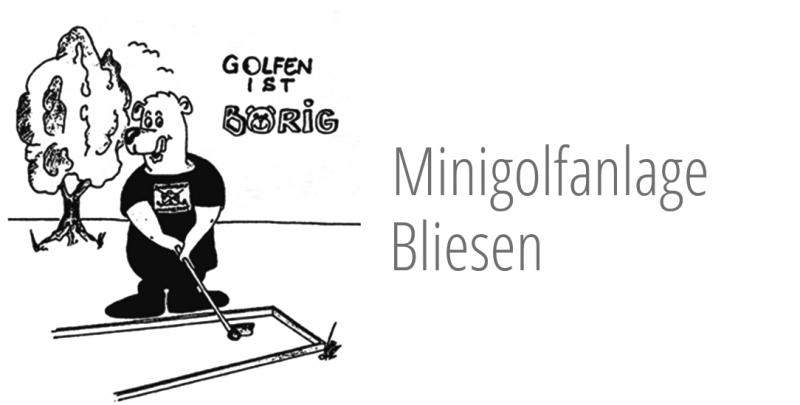 Minigolfanlage Bliesen