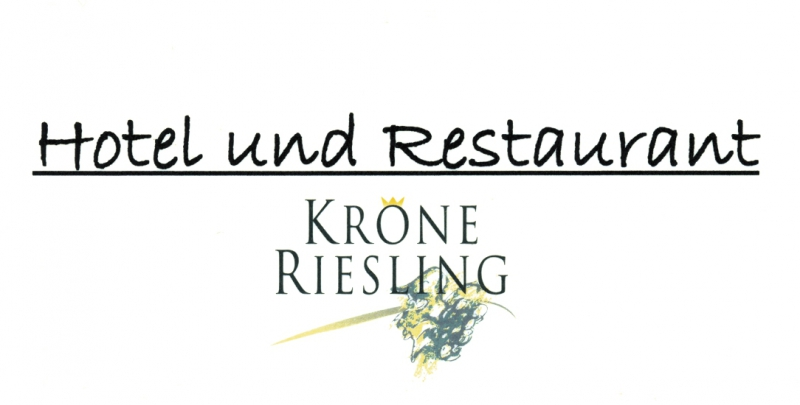 Hotel und Restaurant Krone Riesling