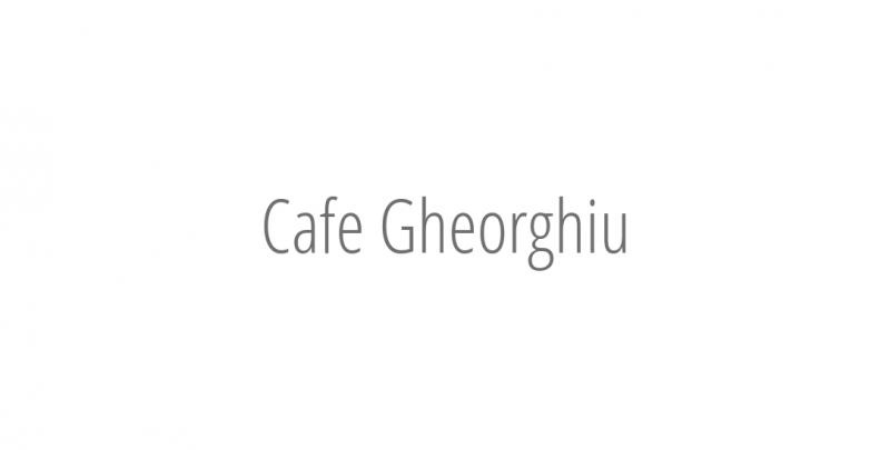Cafe Gheorghiu