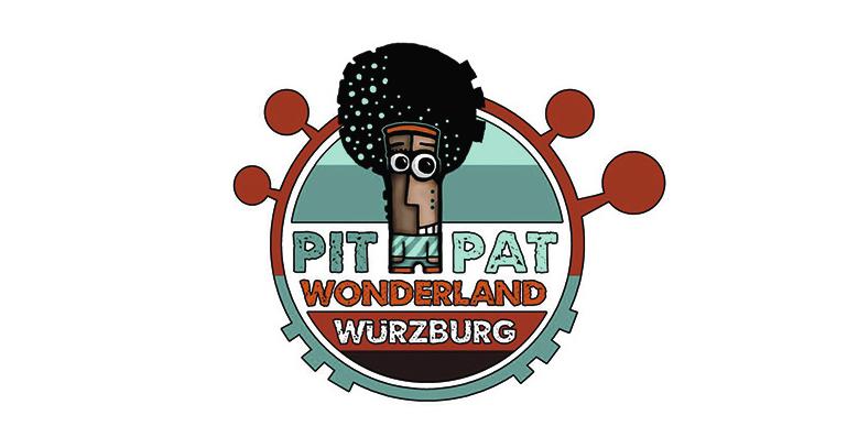 Pit-Pat Wonderland in der Schwarzlichtfabrik