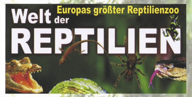 Welt der Reptilien - Der Zoo