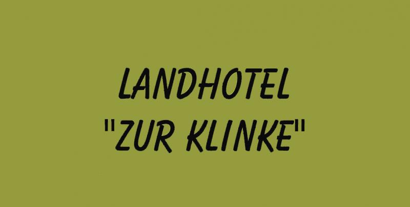 Landhotel Zur Klinke