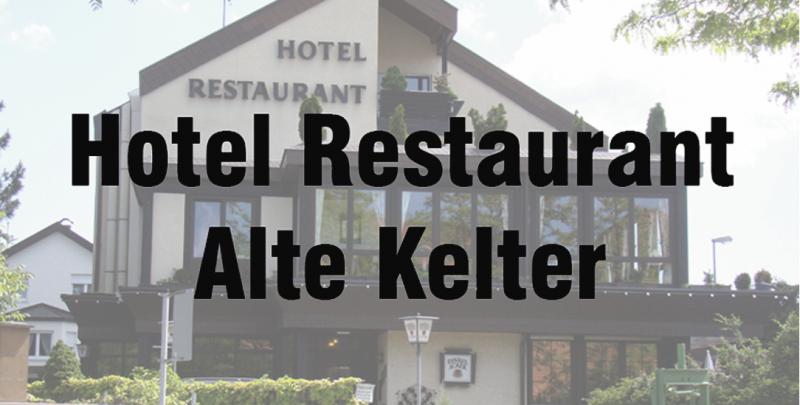 Hotel-Restaurant Alte Kelter