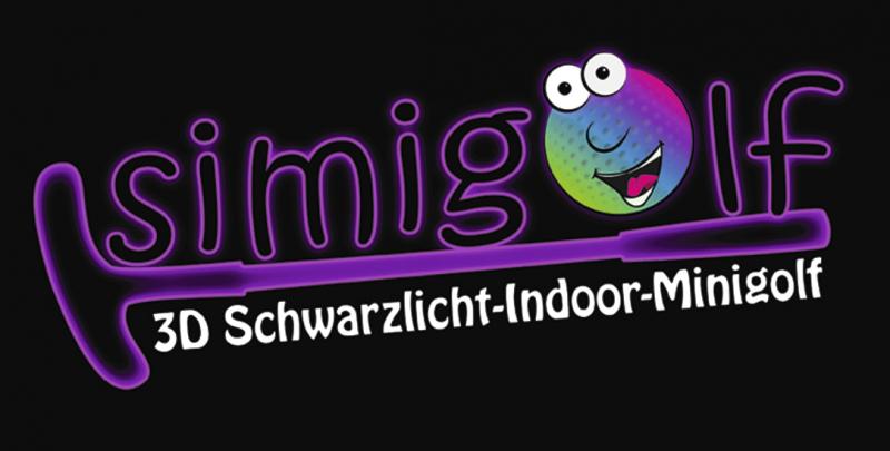 Simigolf 3D Schwarzlicht Indoor-Minigolf