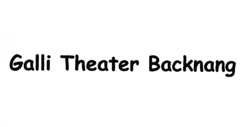 Galli Theater Backnang
