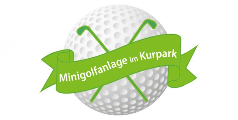 Minigolfanlage im Kurpark