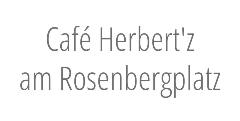 Café Herbert'z am Rosenbergplatz