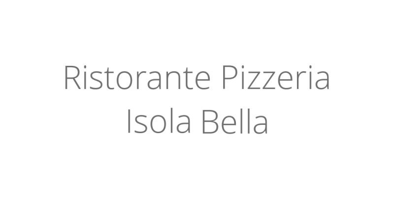 Ristorante Pizzeria Isola Bella