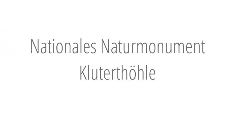 Nationales Naturmonument Kluterthöhle