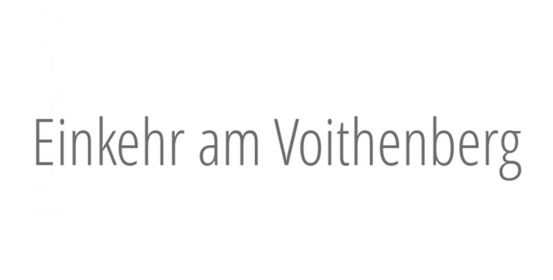 Einkehr am Voithenberg