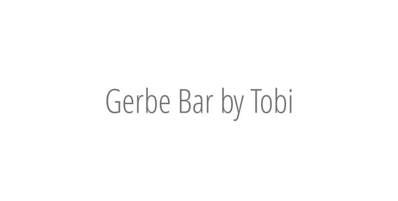 Gerbe Bar by Tobi