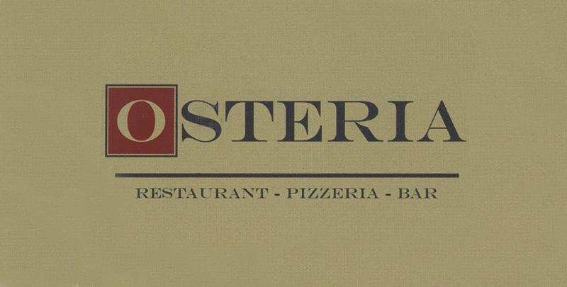 Osteria Restaurant Pizzeria Bar
