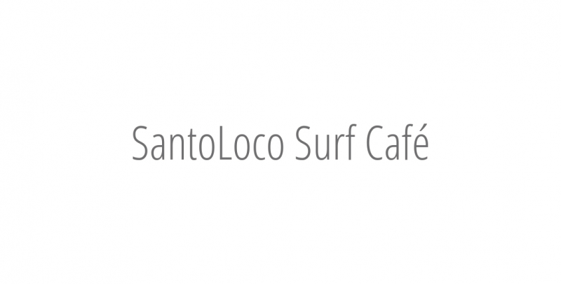 SantoLoco Surf Café