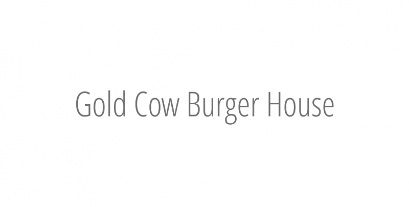 Gold Cow Burger House
