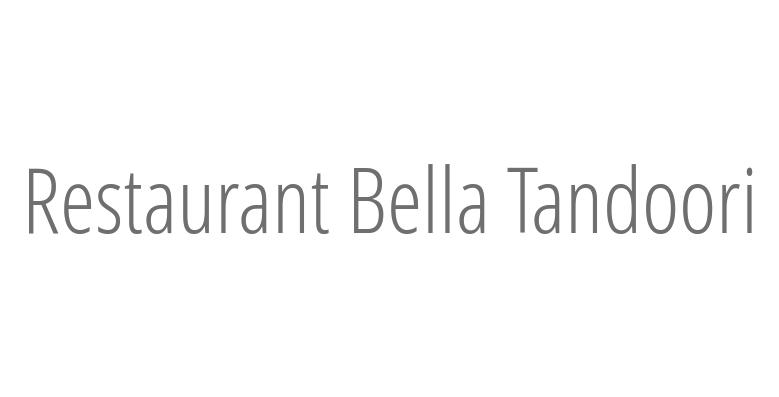 Restaurant Bella Tandoori