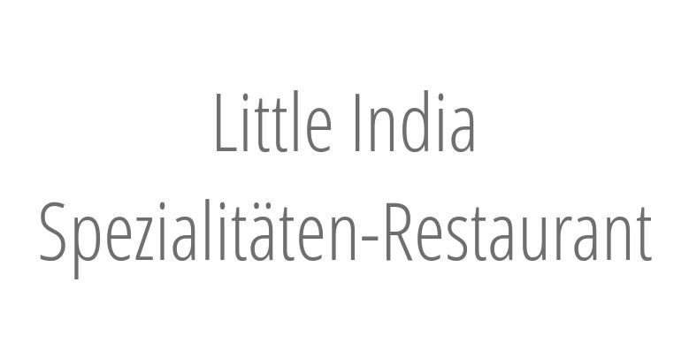 Little India Spezialitäten-Restaurant