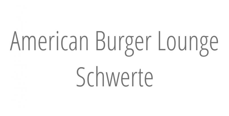American Burger Lounge Schwerte