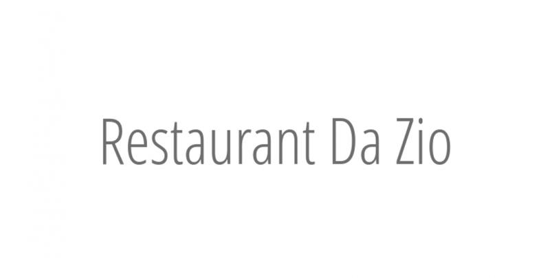 Restaurant Da Zio