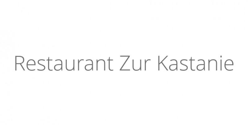 Restaurant Zur Kastanie