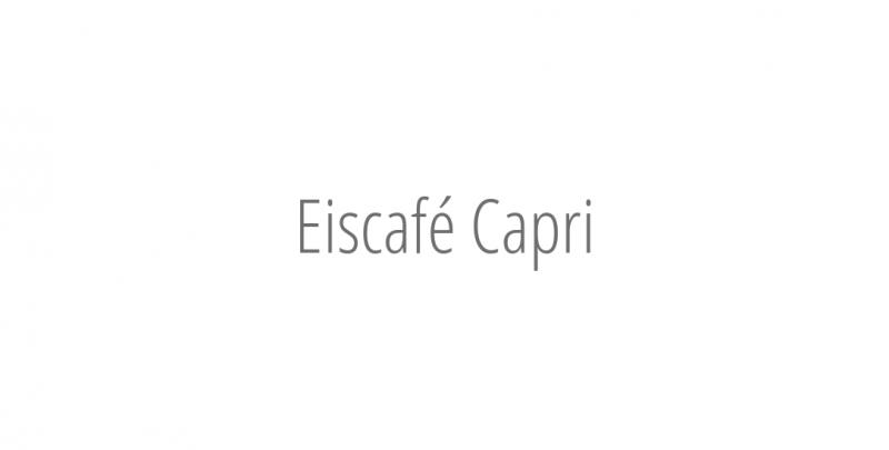 Eiscafé Capri