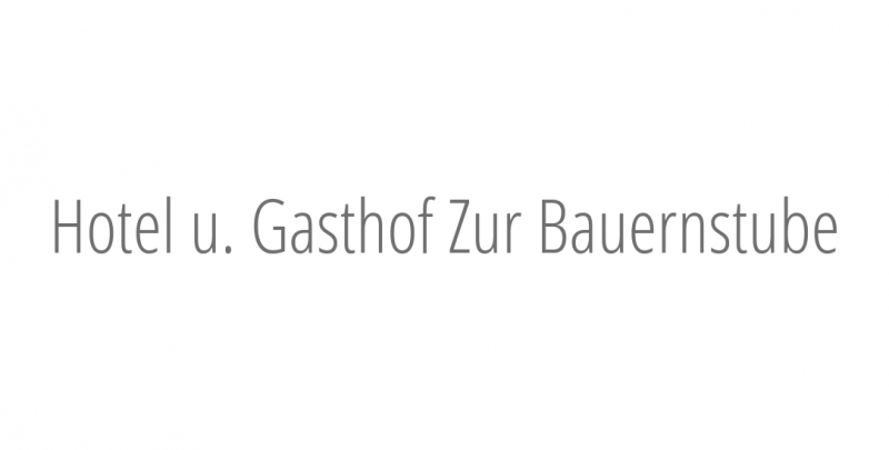 Hotel u. Gasthof Zur Bauernstube