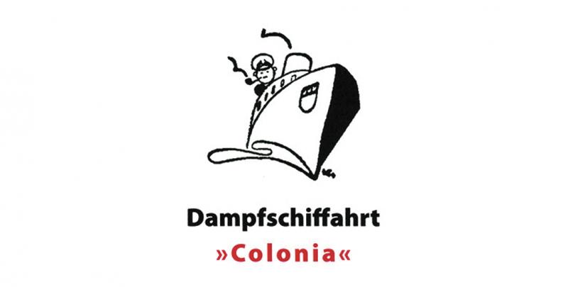 """Dampfschiffahrt """"Colonia"""