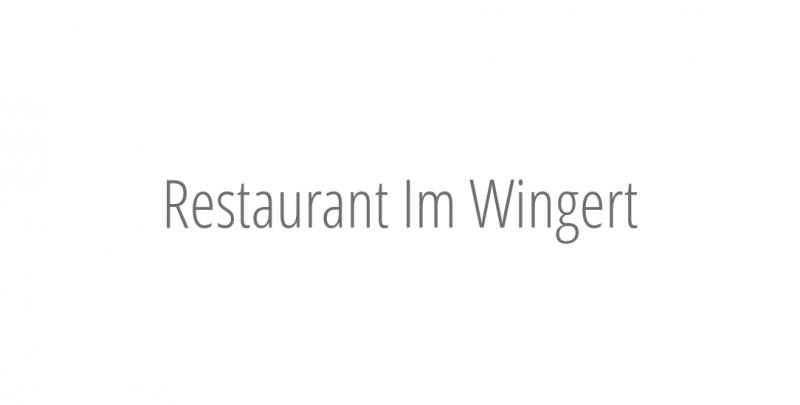 Restaurant Im Wingert