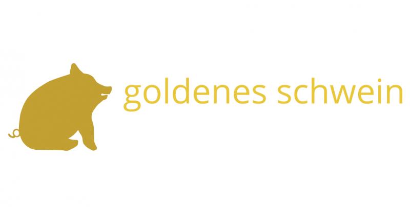 Goldenes Schwein