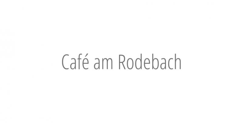 Café am Rodebach