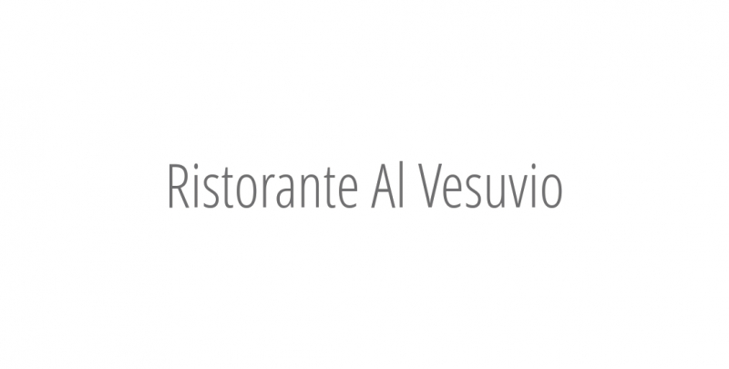 Ristorante Al Vesuvio