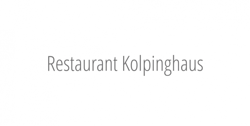 Restaurant Kolpinghaus
