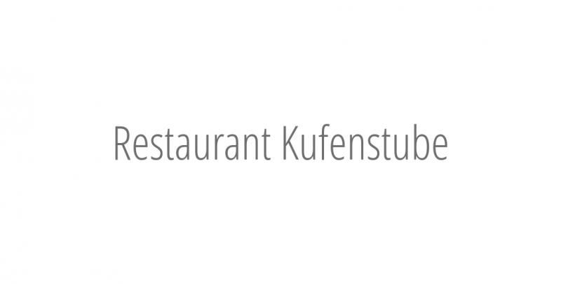 Restaurant Kufenstube