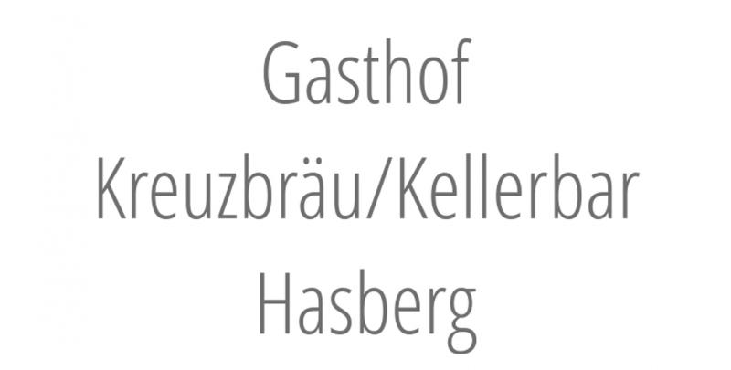 Gasthof Kreuzbräu/Kellerbar Hasberg